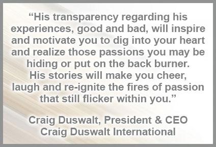 Craig Duswalt, President & CEO, CraigDuswalt.com