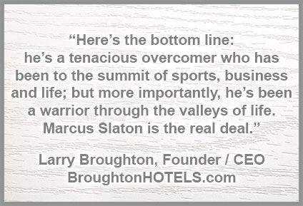 Larry Broughton, Founder & CEO, BroughtonHOTELS.com